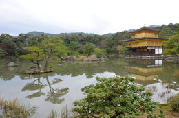 Golden Palace in Kyoto , Mark and Judy - December 2016