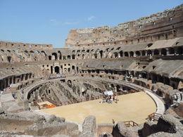 Vue à l'intérieure du Colisée , Morgane L - August 2015