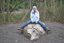At Woodland Park Zoo , Clayton C - January 2012