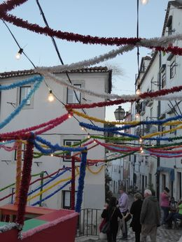 Streets ready for St Anthony's day , David M - August 2015