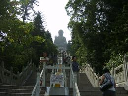 View from below the Giant Buddha, I M - December 2010