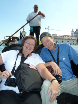 We had six in our group so we were able to have our own gondola my parents in this photo loved this part of our tour. , Jennifer S - August 2011