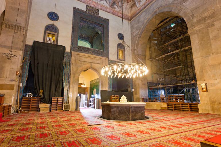 Green Mosque (Yesil Cami) in Bursa, Turkey - Istanbul