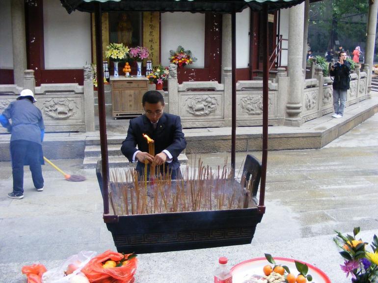 Insence & Hua Pagoda - Hong Kong