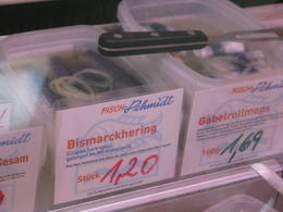 Pickled herring – delicious! - October 2013