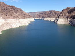 A view of Lake Mead from the Paddle Wheel Boat. , Robert N - September 2014