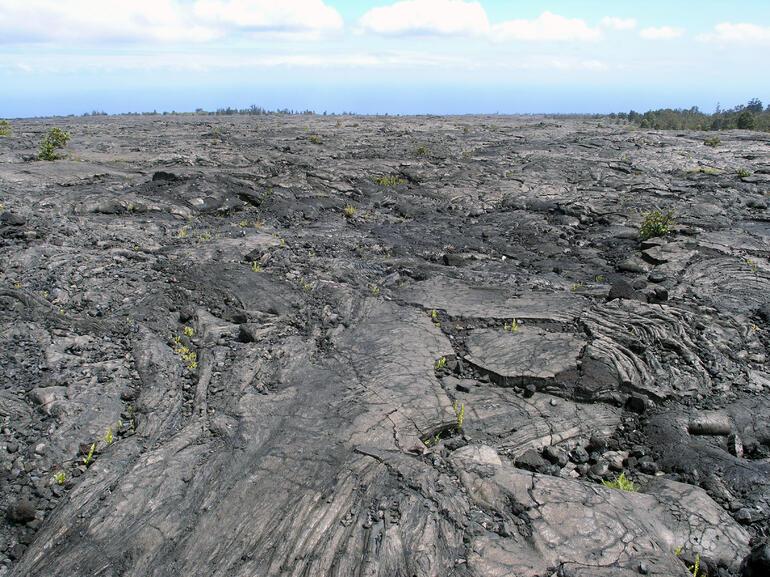 Lava flow - Oahu