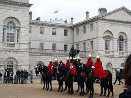 Changing of the horse guards, Paul A - December 2009