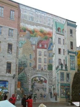Quebec city's murals, Alma Luz C - November 2010