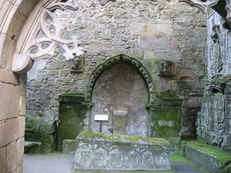 Ruin - Santiago de Compostela