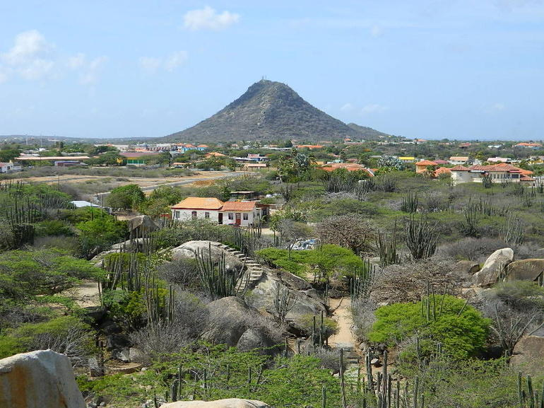 Top of Casibari Rock Formation - Aruba