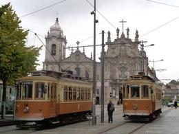 Old trams in Porto , Graeme C - October 2014