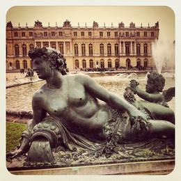 Outside of Versailles, Ryan & Asha - April 2013