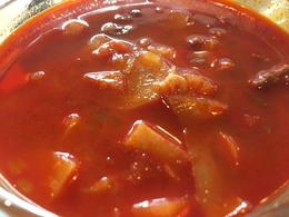 Goulash soup , Sandra O - December 2016