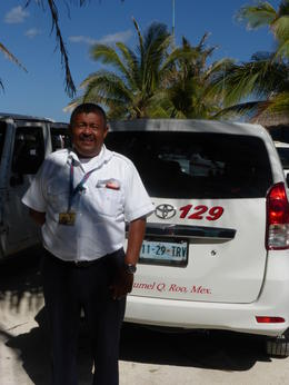 Benito, our private taxi driver. Excellent tour guide! , Alice K K - February 2017