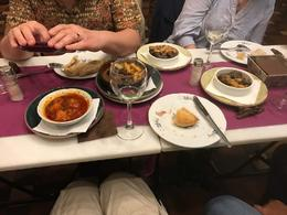 Catfish pigs cheek and oxtail dishes , William D - April 2017