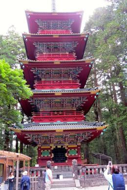 Toshugu Shrine - Five-storey Pagoda , Sandra D - June 2017