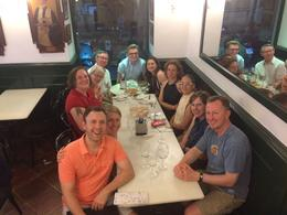 Group picture at our last tapas bar , Jeffrey M - June 2017