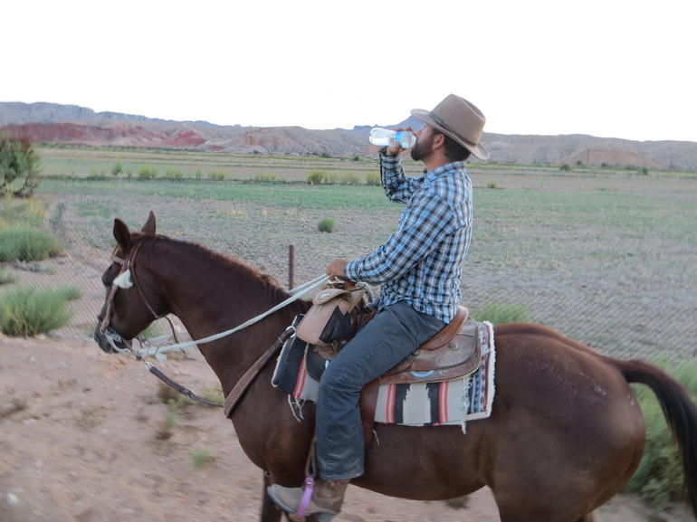 Wild West Sunset Horseback Ride with Dinner from Las Vegas photo 17
