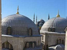 A view from Hagia Sophia , Bakhteyer - November 2017
