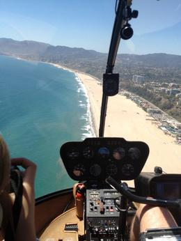 Headed north from Santa Monica pier toward Malibu, Dave H - July 2012