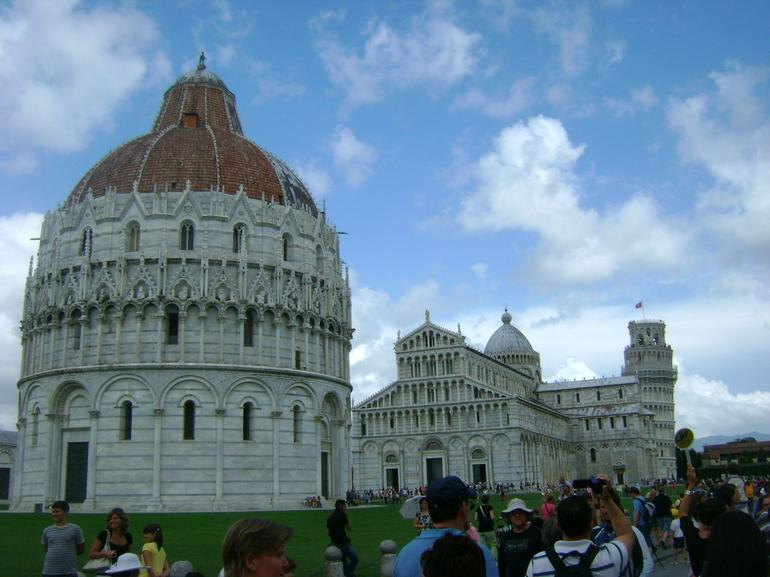 Baptistery, Cathedral and Tower - Florence