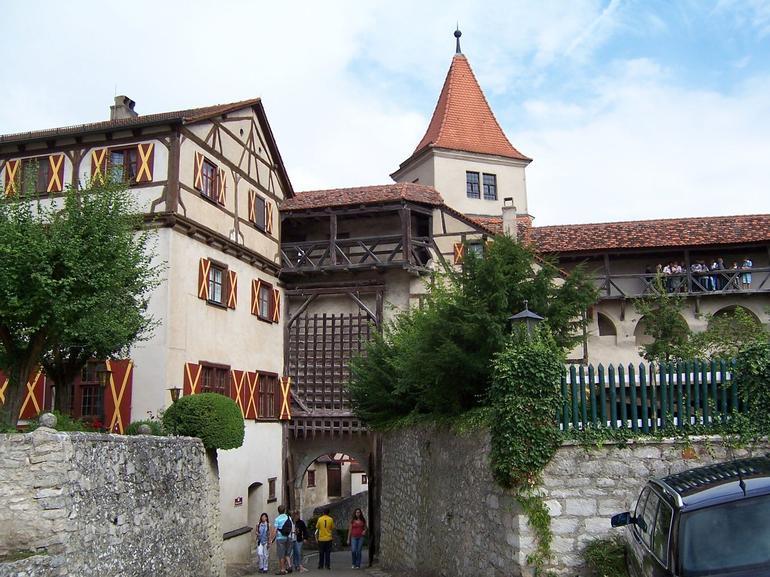 Castle at Harburg, Romantic Road tour - Munich