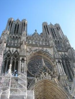 Coronation of king's church in Reims, Bruce J - October 2009