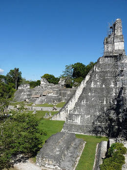 The main complex at Tikal., kellythepea - July 2012