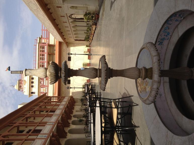 Courtyard of Maharajah's Palace - Jaipur
