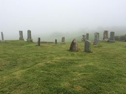 Graveyard on the Isle of Skye , MaryAnne - September 2015