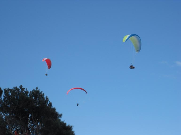 Hang Gliders at Bald Hill -