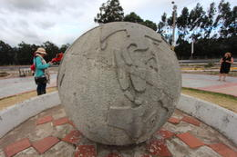Old Middle of the World monument located on the equator, Bandit - October 2013
