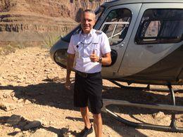 Fred posing outside the Chopper , Karlos - September 2015