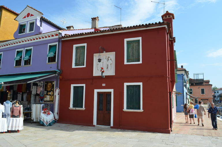 Painted house - Venice