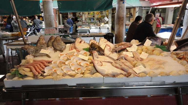 Rialto Fish Market - Venice