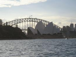 A view of the Sydney Opera House and Sydney Harbour Bridge., Christine C - July 2008