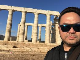 Temple Of Poseidon @ Cape Sounion , Ariel G - October 2017