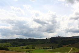 Tuscany landscape with San Gimignano in the horizon , Dominic O - June 2016