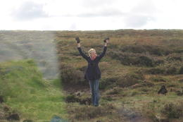 Hannah found the peat!! , Destini K - November 2012