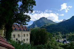 Looking back at Neuschwanstein Castle from Hohenschwangau , Carl B - October 2016