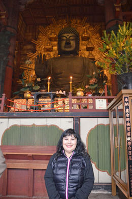 Judy and The Buddha! , Mark and Judy - December 2016