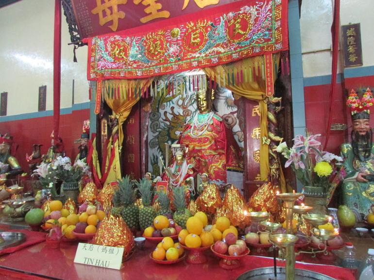 Beautiful shrine/temple inside Stanley Park - Hong Kong