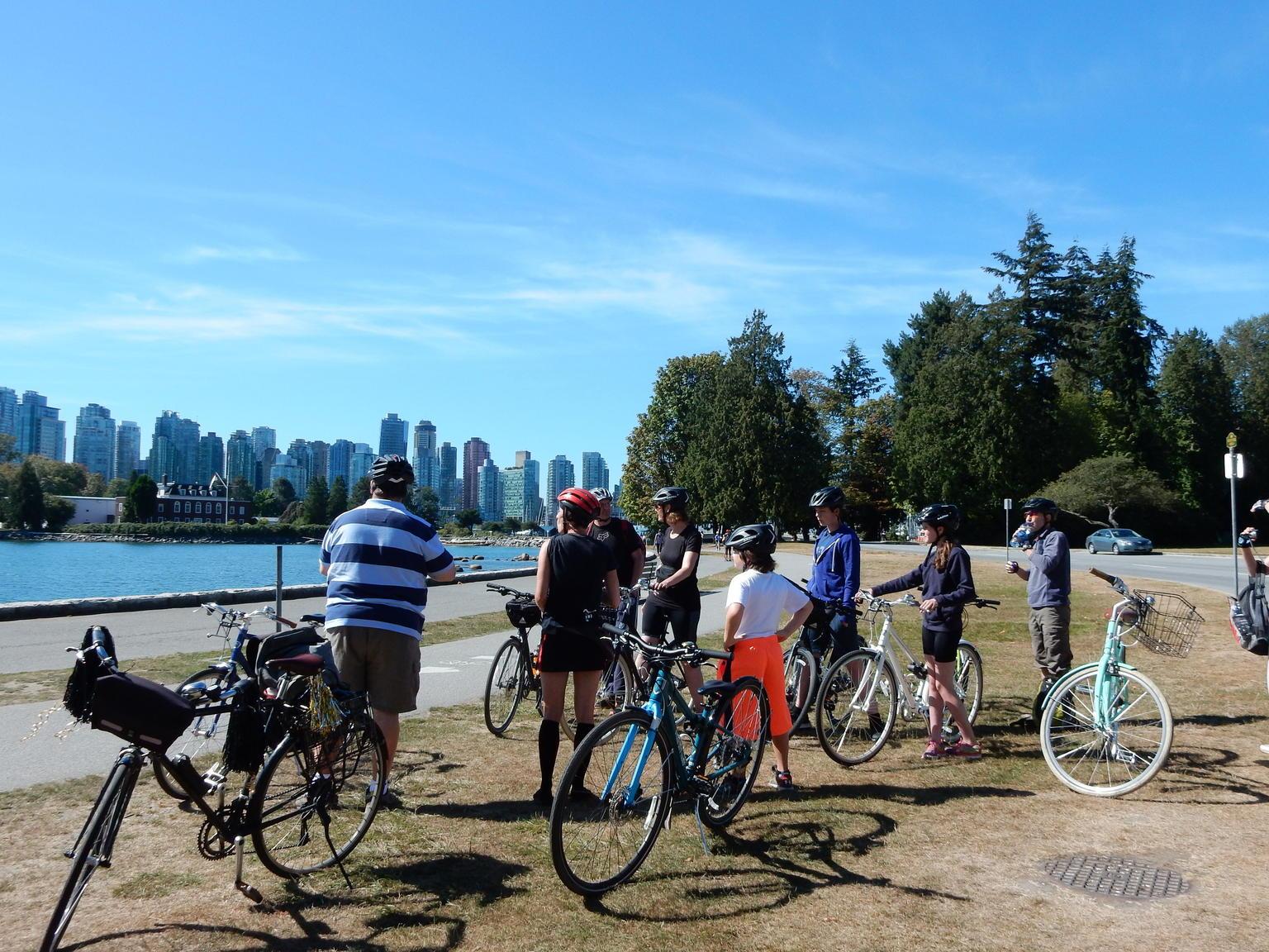 MAIS FOTOS, Excursão de bicicleta pelos destaques de Vancouver - o Grand Tour