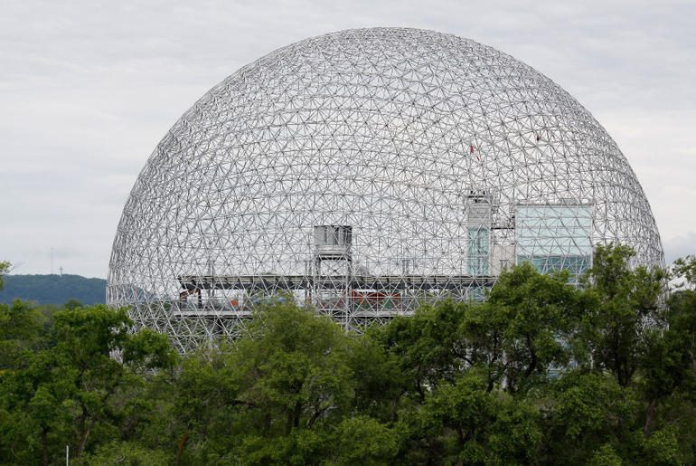 Biosphere in Montreal, Canada - Montreal