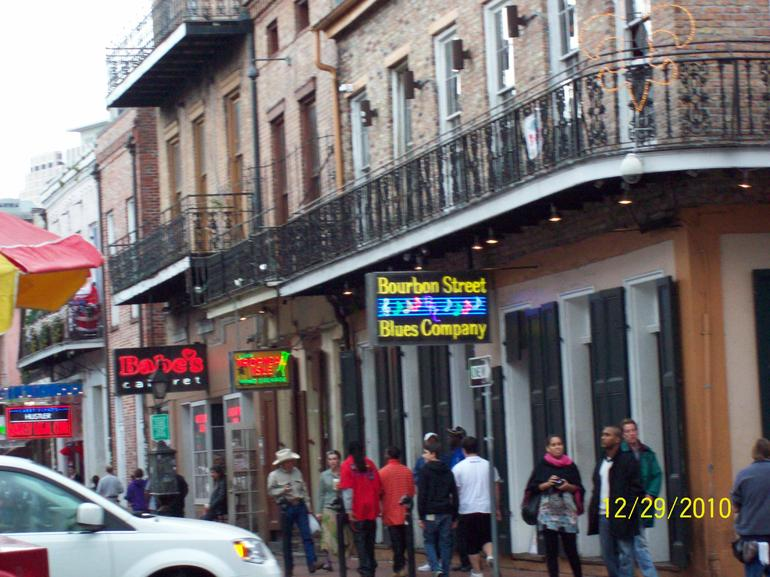 Bourbon St. - New Orleans