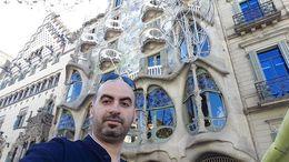 Gaudis Casa Batllo , Fares R - February 2015