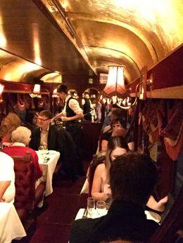 Dining on the Tramcar , Granger Trip - June 2016