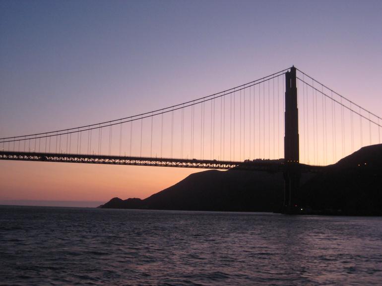 Golden Gate Bridge Sunset - San Francisco