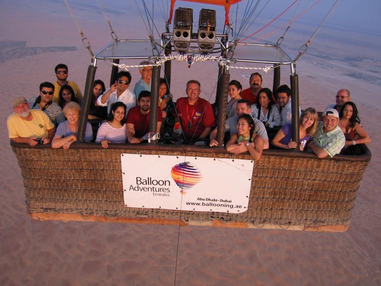 Hot Air Balloon In flight - Dubai